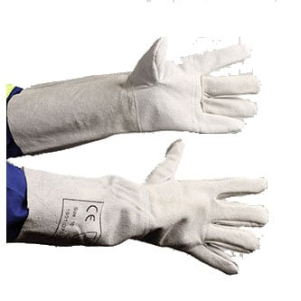 Safesol PPE Safety Gloves - Reinforced Chrome Leather Glove