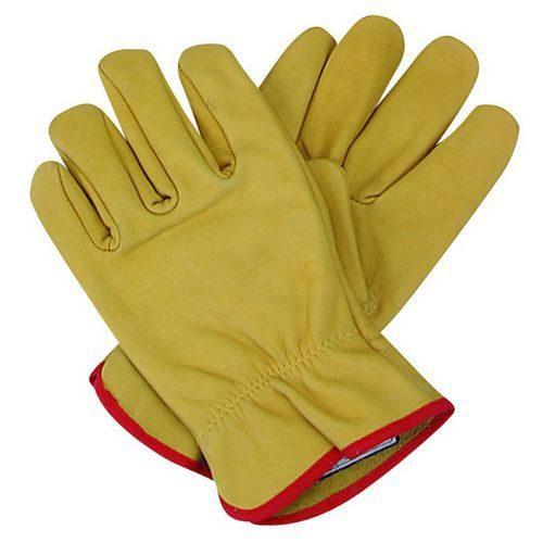 Safesol PPE Safety Gloves - Full Grain Pig Skin Glove